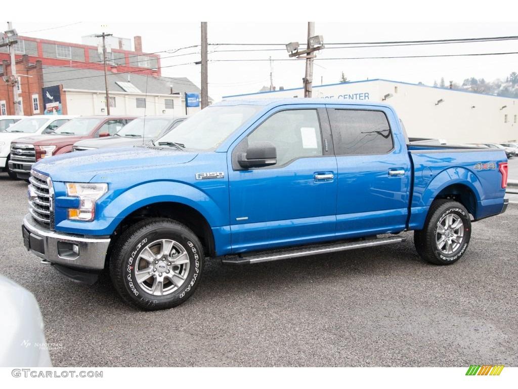 2016 Blue Flame Ford F150 Xlt Supercrew 4x4 109995359