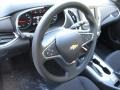Jet Black 2016 Chevrolet Malibu LT Steering Wheel