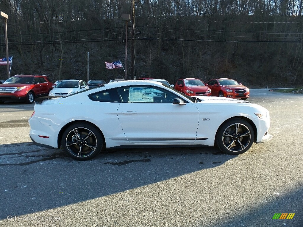 2016 Mustang Gt Cs California Special Coupe Oxford White Ebony Black