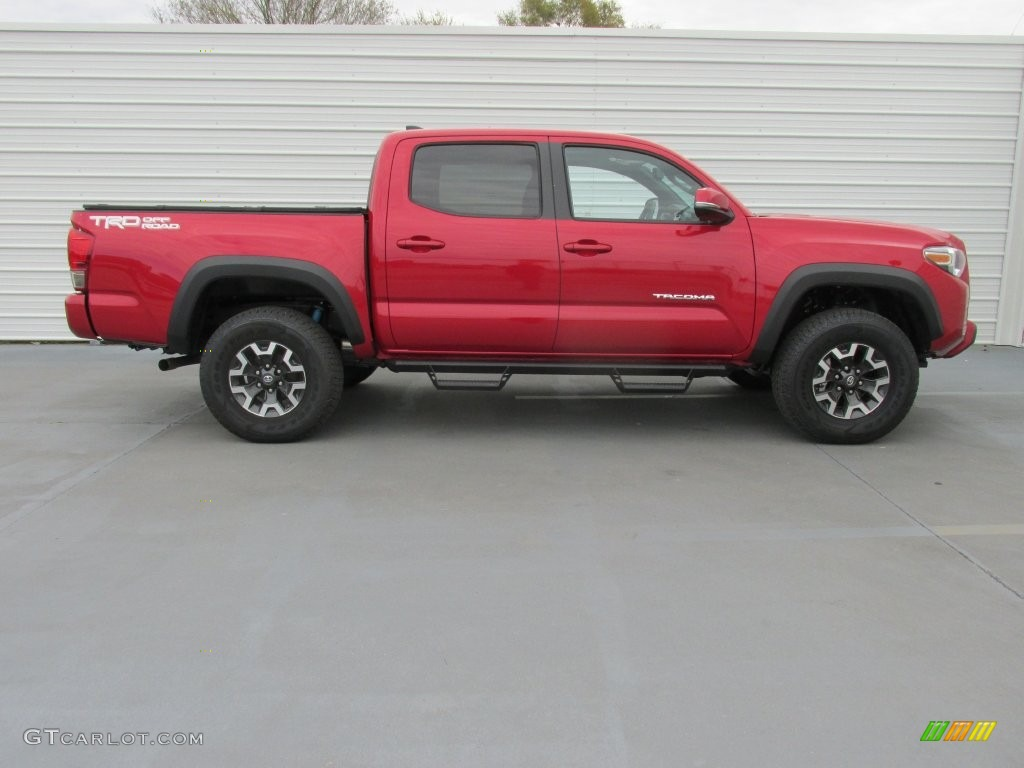 barcelona red metallic 2016 toyota tacoma trd off road double cab 4x4 exterior photo 110022753. Black Bedroom Furniture Sets. Home Design Ideas