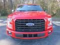 2016 Race Red Ford F150 XLT SuperCrew  photo #14