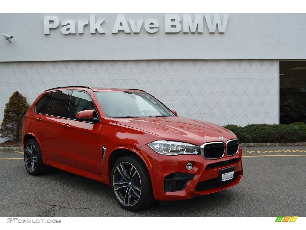 Melbourne Red Metallic BMW X5 M