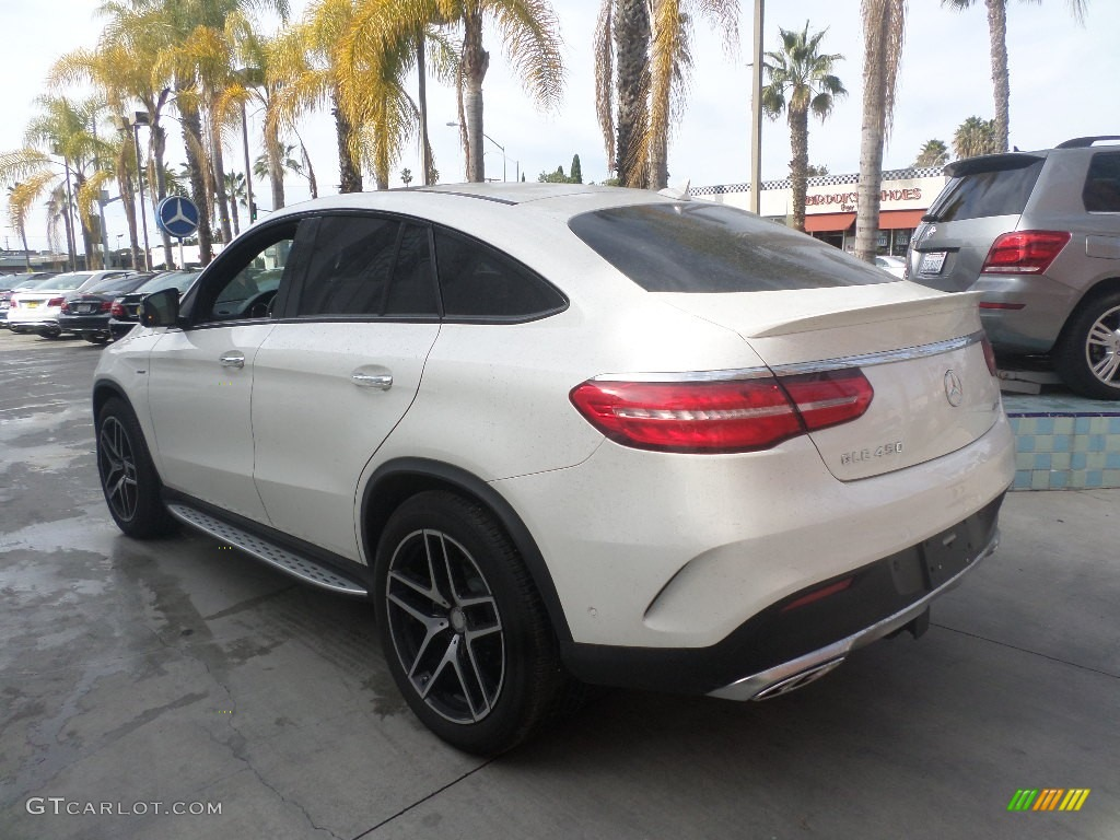 Designo diamond white metallic 2016 mercedes benz gle 450 for Mercedes benz gle 450
