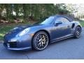 2016 Yachting Blue, Paint to Sample Porsche 911 Turbo S Cabriolet  photo #1