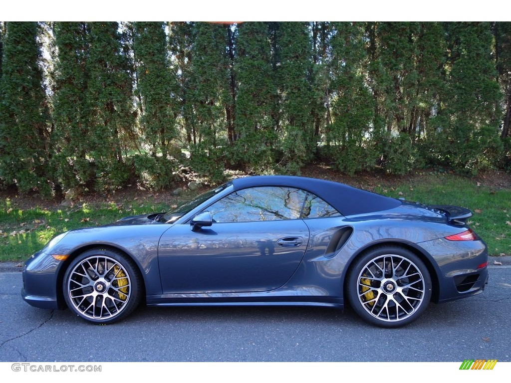 Yachting Blue Paint To Sample 2016 Porsche 911 Turbo S