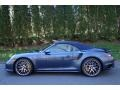 2016 Yachting Blue, Paint to Sample Porsche 911 Turbo S Cabriolet  photo #3