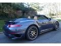 2016 Yachting Blue, Paint to Sample Porsche 911 Turbo S Cabriolet  photo #7