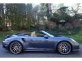 2016 Yachting Blue, Paint to Sample Porsche 911 Turbo S Cabriolet  photo #8