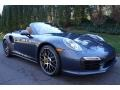 2016 Yachting Blue, Paint to Sample Porsche 911 Turbo S Cabriolet  photo #9