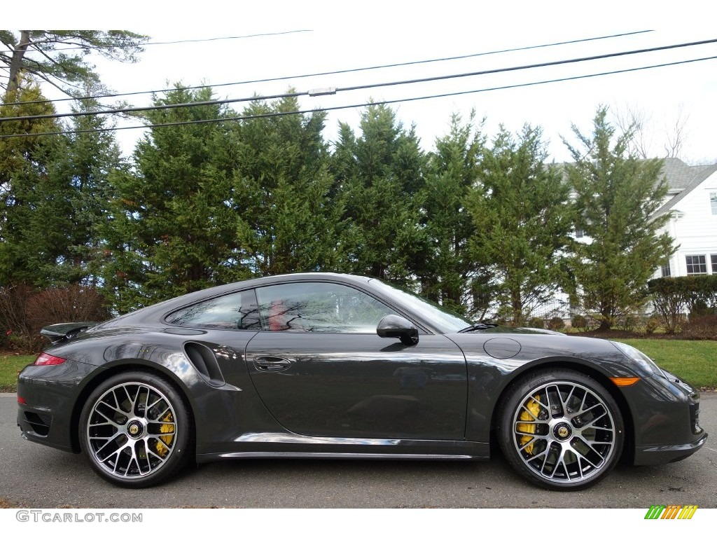 2016 slate grey paint to sample porsche 911 turbo s coupe Dark grey paint samples