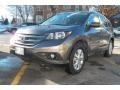 Urban Titanium Metallic 2012 Honda CR-V EX-L 4WD