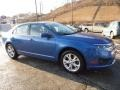 2012 Blue Flame Metallic Ford Fusion SE #110080756