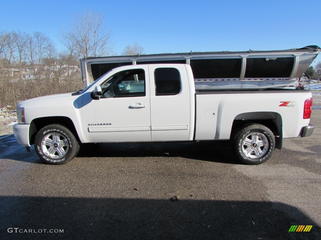 2012 Silverado 1500 LTZ Extended Cab 4x4 - Summit White / Ebony photo #1