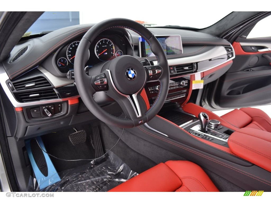 Mugello Red Interior 2016 Bmw X6 M Standard X6 M Model Photo
