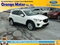 2014 Crystal White Pearl Mica Mazda CX-5 Grand Touring AWD #110115658