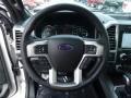 2016 Ford F150 Platinum Brunello Interior Steering Wheel Photo