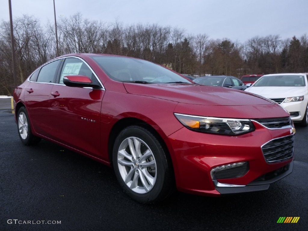 2016 Crystal Red Tintcoat Chevrolet Malibu LT #110115640 Photo #3 | GTCarLot.com - Car Color ...