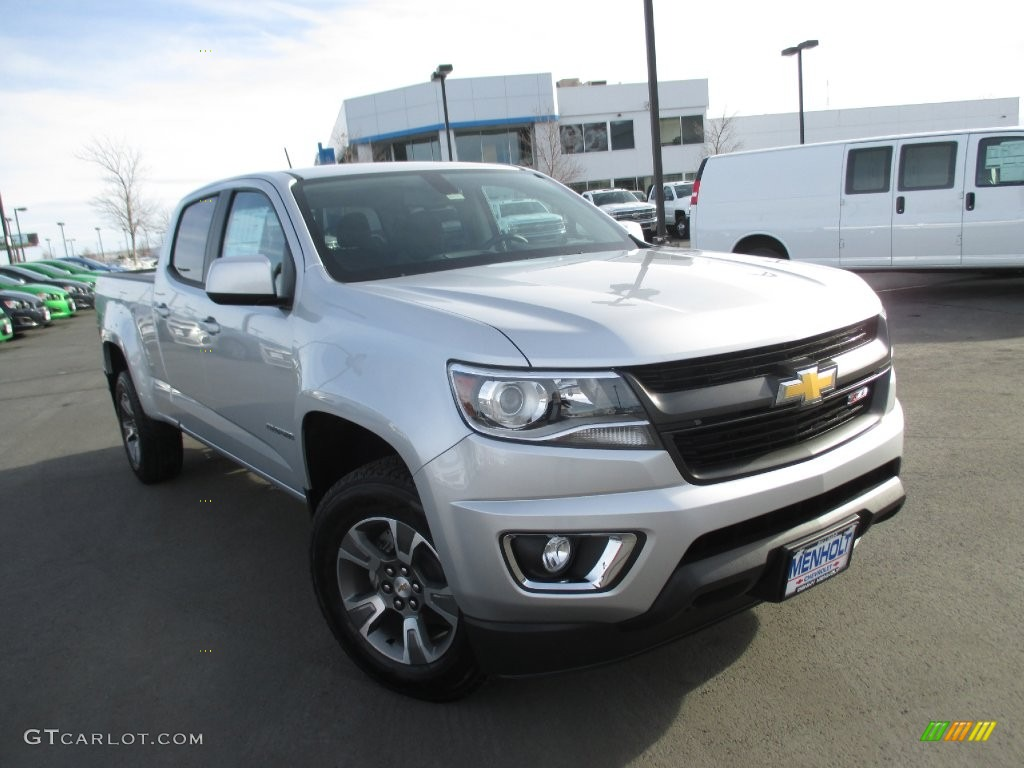 2016 silver ice metallic chevrolet colorado z71 crew cab. Black Bedroom Furniture Sets. Home Design Ideas