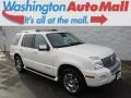 White Suede 2008 Mercury Mountaineer Premier AWD