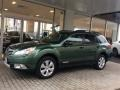 Cypress Green Pearl 2012 Subaru Outback 2.5i Limited