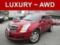 Crystal Red Tintcoat 2012 Cadillac SRX Luxury AWD