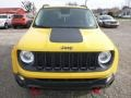 2016 Solar Yellow Jeep Renegade Trailhawk 4x4  photo #12