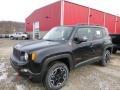 Black 2016 Jeep Renegade Trailhawk 4x4