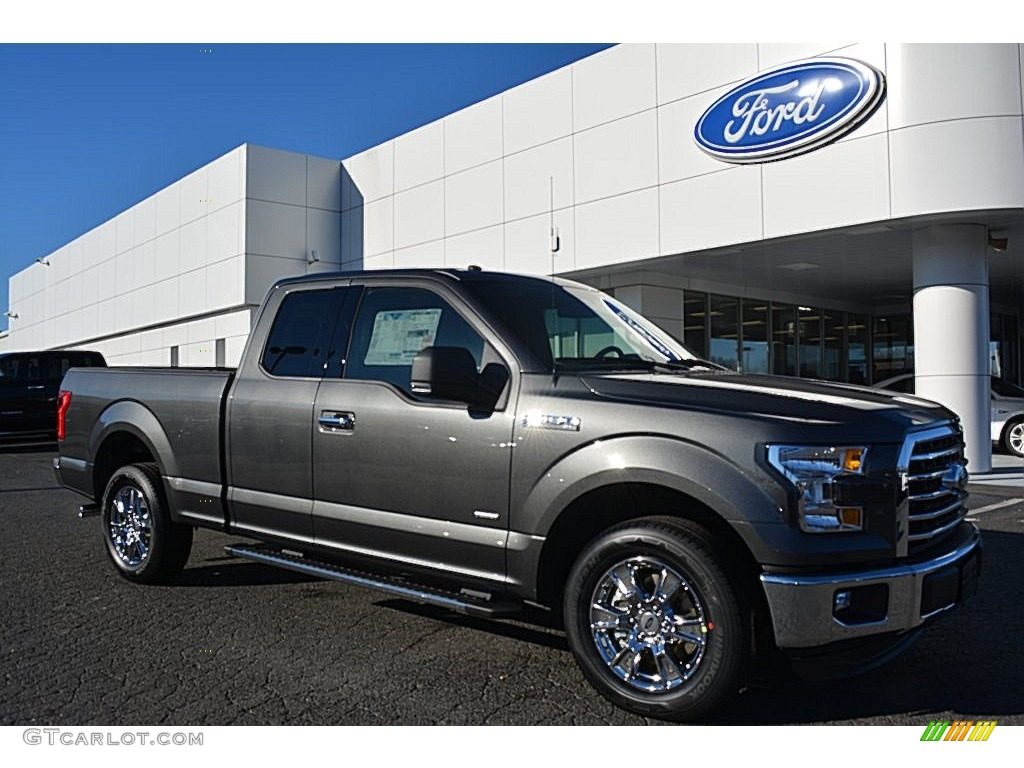 2016 magnetic ford f150 xlt supercab 110163895 car color galleries. Black Bedroom Furniture Sets. Home Design Ideas