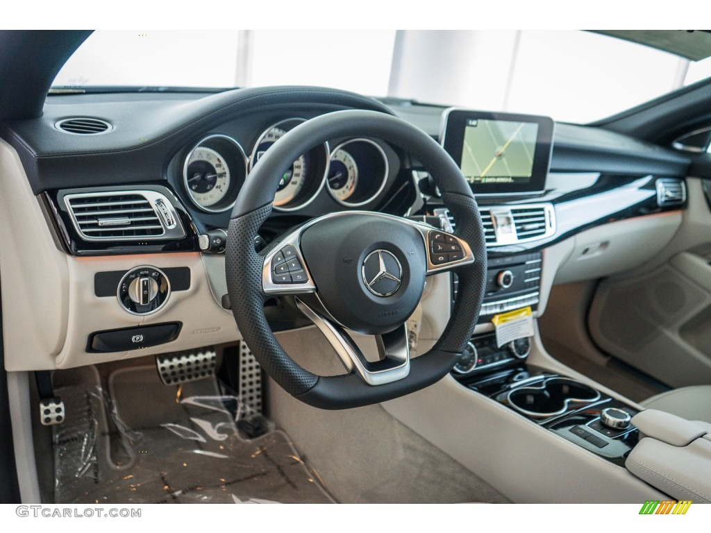 Crystal Grey Seashell Grey Interior 2016 Mercedes Benz Cls 550 Coupe Photo 110181847 Gtcarlot Com