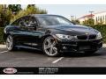 Black Sapphire Metallic 2016 BMW 4 Series 435i Gran Coupe