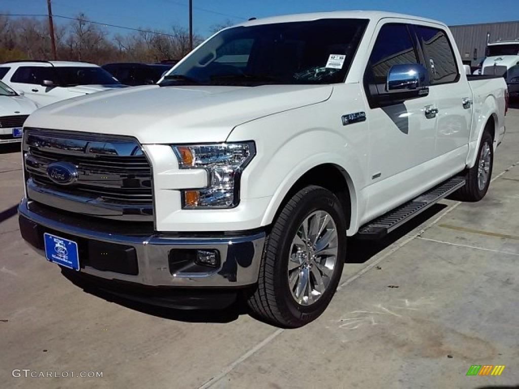 2016 white platinum ford f150 lariat supercrew 110193556 photo 7 car color. Black Bedroom Furniture Sets. Home Design Ideas