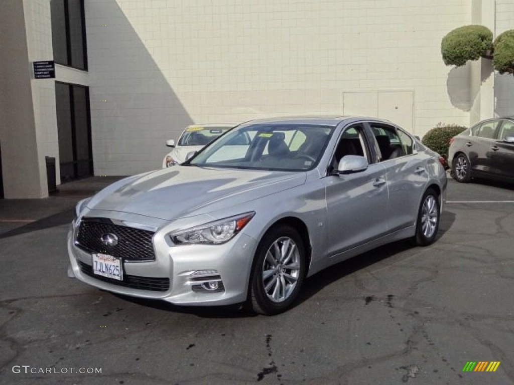 2017 Infiniti Q50 Specs >> 2015 Liquid Platinum Infiniti Q50 3.7 #110193880 Photo #27 | GTCarLot.com - Car Color Galleries