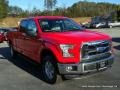 2016 Race Red Ford F150 XLT SuperCrew 4x4  photo #7