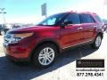 Ruby Red 2014 Ford Explorer XLT