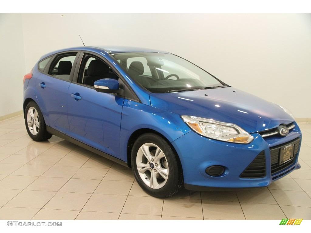 2014 blue candy ford focus se hatchback 110220980 photo 6 car color galleries. Black Bedroom Furniture Sets. Home Design Ideas