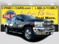2013 Black Chevrolet Silverado 1500 LT Crew Cab 4x4 #110220675