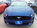 2016 Deep Impact Blue Metallic Ford Mustang EcoBoost Coupe  photo #5