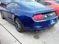 2016 Deep Impact Blue Metallic Ford Mustang EcoBoost Coupe  photo #7