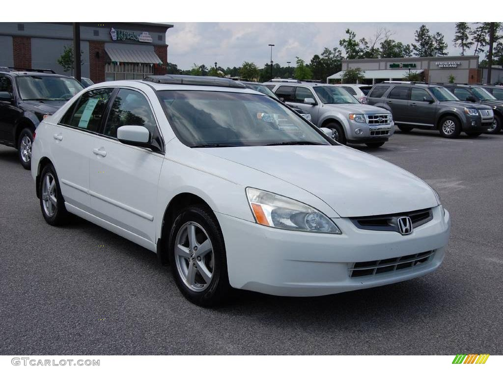 2003 taffeta white honda accord ex l sedan 11015570 car color galleries. Black Bedroom Furniture Sets. Home Design Ideas