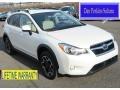 Satin White Pearl 2013 Subaru XV Crosstrek 2.0 Premium