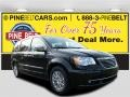 Brilliant Black Crystal Pearl 2016 Chrysler Town & Country Limited