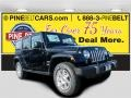 Black 2016 Jeep Wrangler Unlimited Sahara 4x4