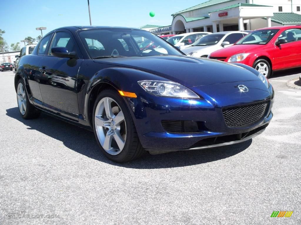 2007 stormy blue mica mazda rx 8 sport 11015590. Black Bedroom Furniture Sets. Home Design Ideas