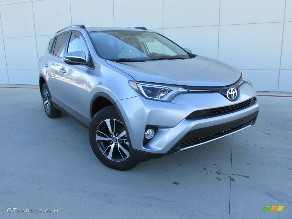 2016 silver sky metallic toyota rav4 xle 110251295 car color galleries. Black Bedroom Furniture Sets. Home Design Ideas