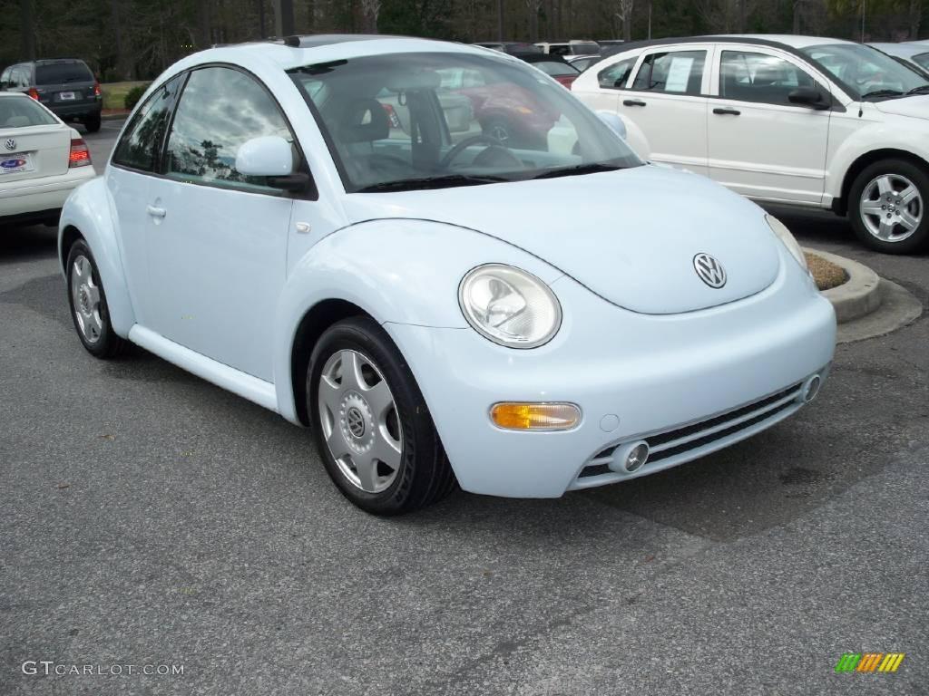 2000 heaven blue metallic volkswagen new beetle gls 1 8t. Black Bedroom Furniture Sets. Home Design Ideas
