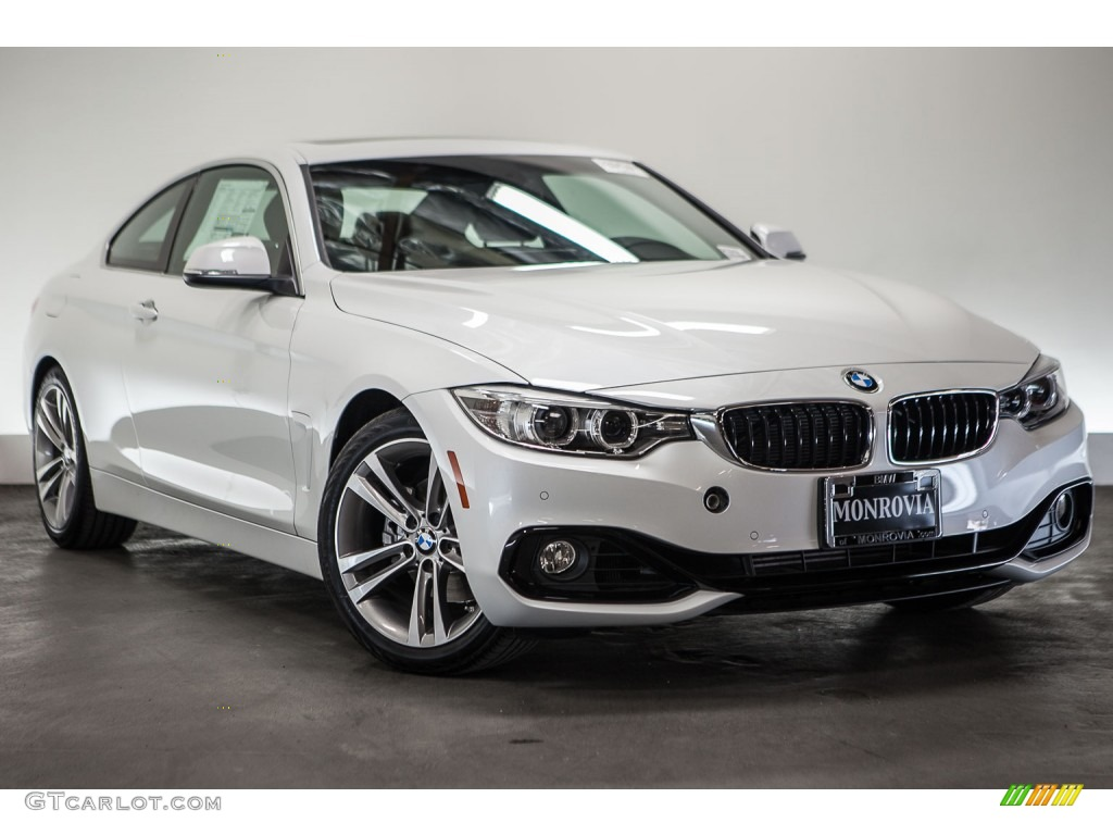 2016 mineral white metallic bmw 4 series 428i coupe 110276009 car color galleries. Black Bedroom Furniture Sets. Home Design Ideas