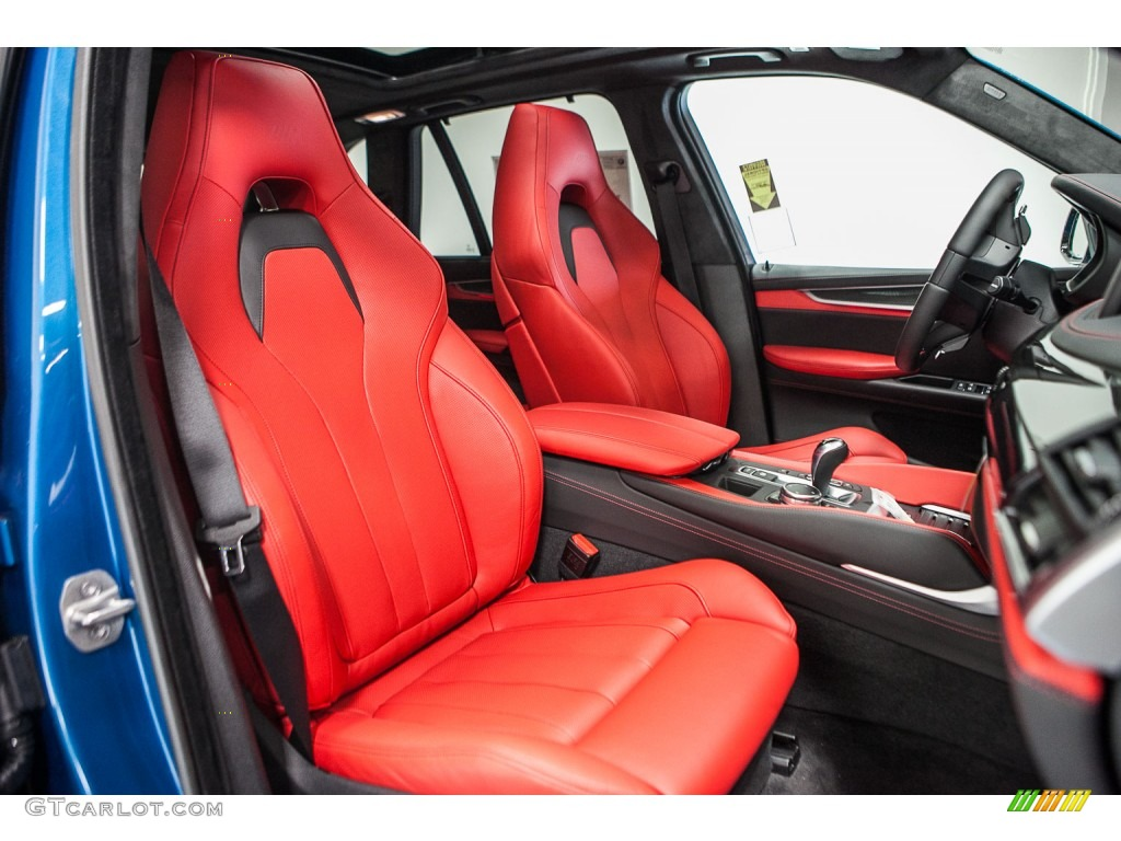 Mugello Red Interior 2016 BMW X5 M XDrive Photo 110307338