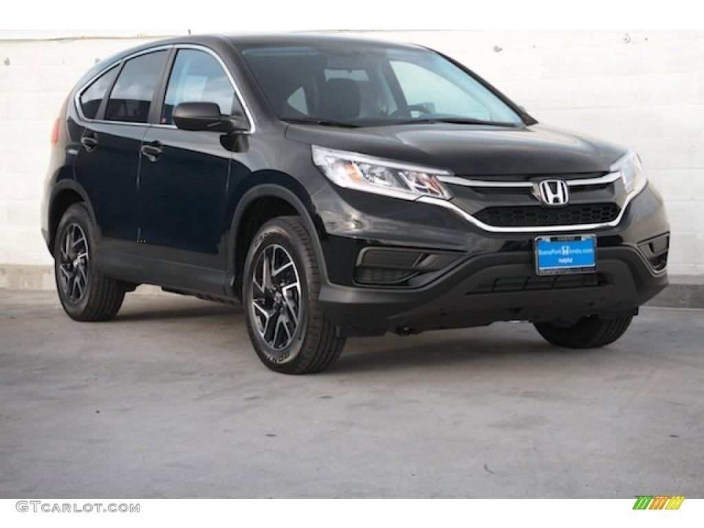 2016 Crystal Black Pearl Honda CRV SE 110307231  GTCarLotcom