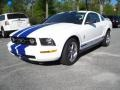 2006 Performance White Ford Mustang V6 Premium Coupe  photo #10