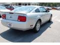 2007 Satin Silver Metallic Ford Mustang V6 Deluxe Coupe  photo #13